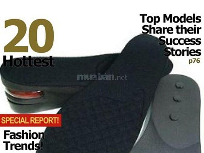 Lót giày tăng chiều cao MAXI cho nam và nữ