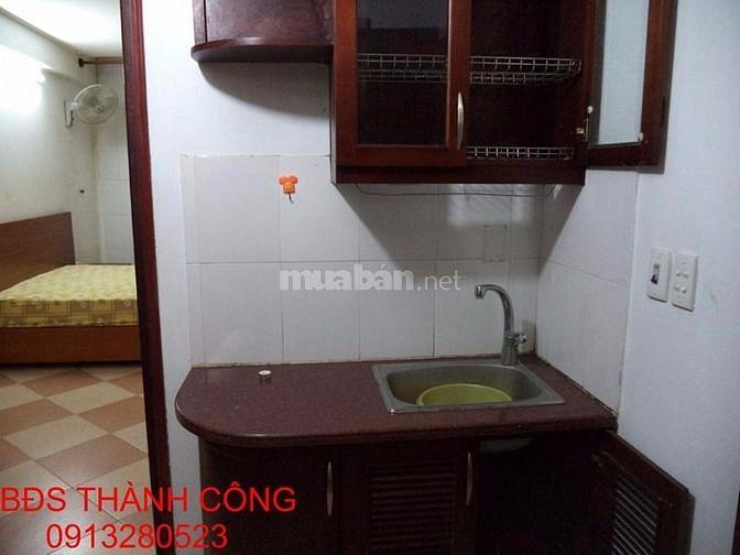 Cho thuê căn hộ cao cấp đủ đồ phố Hàm Long giá 8 triệu