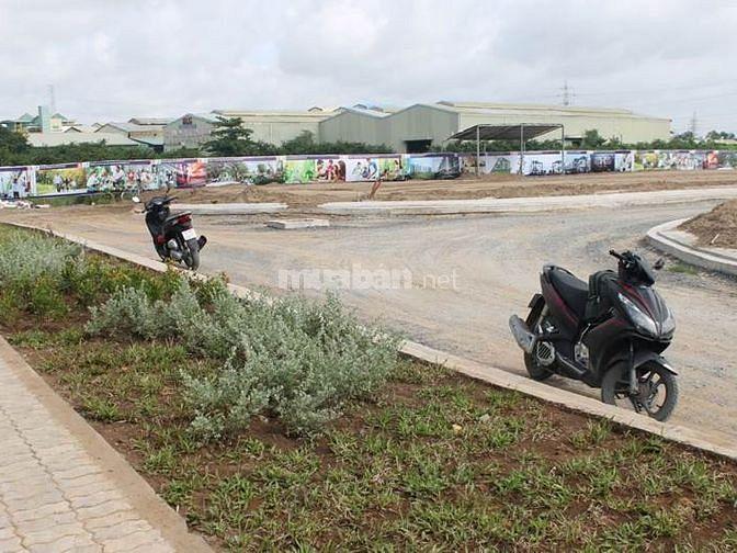 Đất 5x16m2, KĐT compound Bình Tân, đối diện công viên.