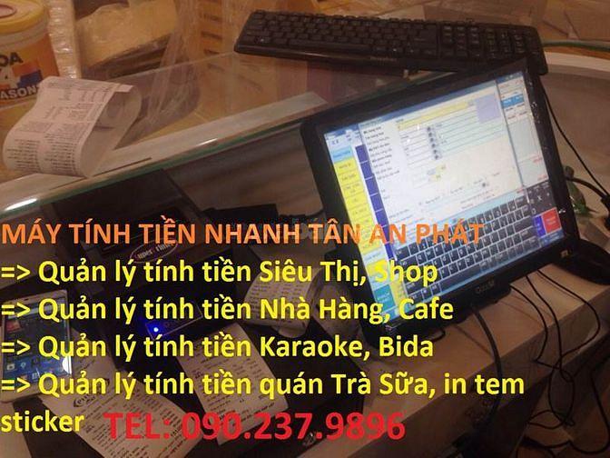 Lắp đặt máy tính tiền cho Nhà Hàng  Biên Hòa Đồng Nai