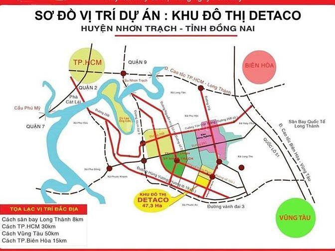 Bán nhà mặt phố khu đô thị Nhơn Trạch đã có sổ hồng