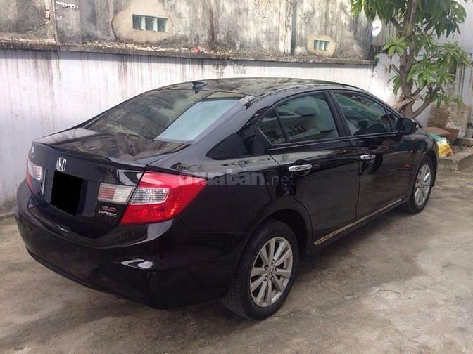 Cần bán xe Honda Civic 2014 số tự động màu đen, xe chính chủ