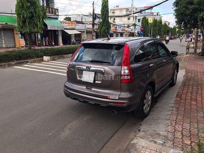 Nhà ít đi cần bán Honda CRV 2013 xe đẹp như mới màu nâu hồng tự động