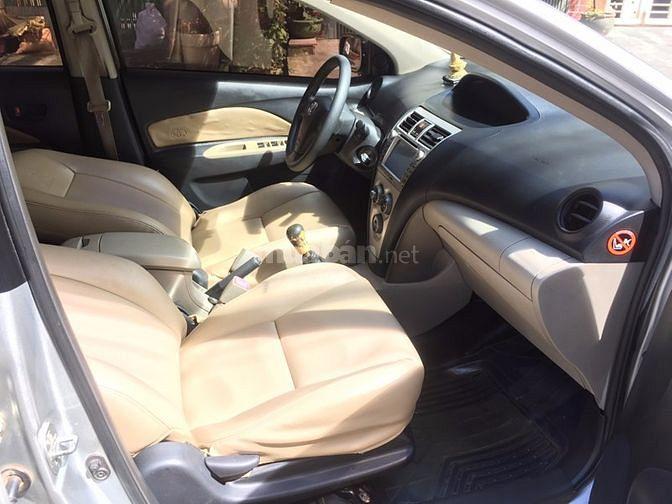 Bán xe Vios E 2010 số sàn màu bạc zin. Xe nhà sử dụng