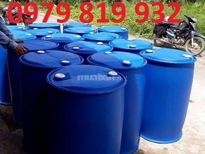 Công ty cung cấp thùng phuy nhựa, thùng phuy nhựa 200 lít tại Đà nẵng