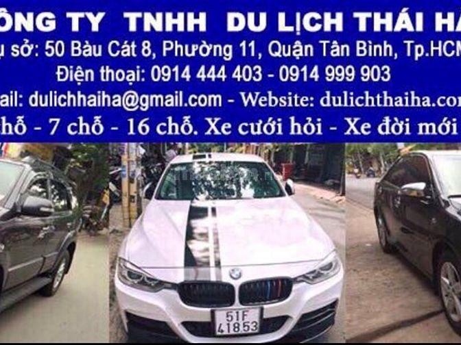 Cho thuê xe tự lái 500k/ngày tại 50 Bàu Cát 8 Phường 11 Quận Tân Bình