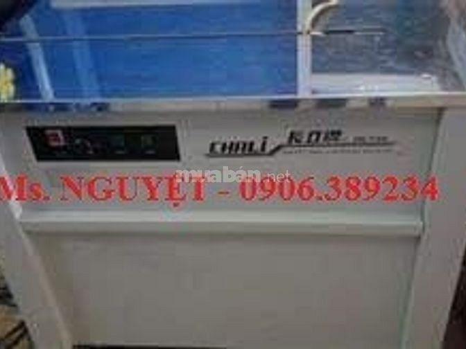 Máy đóng đai thùng bán tự động Chaly JN740 giá rẻ tại An Giang Cần Thơ