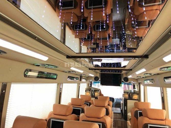 Xe County TRACOMECO độ 17 ghế siêu VIP đẳng cấp