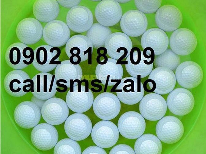 Nhận in ấn logo lên bóng golf, banh golf