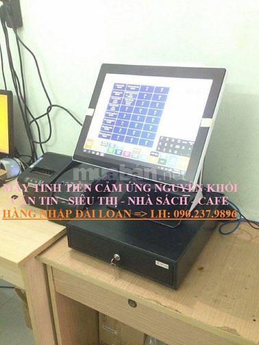 Máy tính tiền trọn bộ cho quán trà sữa - cafe tại Hưng Yên