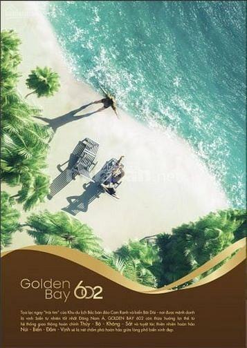 Chính chủ cần bán đất nền GOLDEN BAY 602, Nền đẹp lộ giới 20m