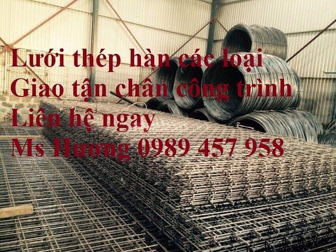 Nhà sản xuất lưới thép hàn phi 5 mạ ô 50x50, 50x100, 50x150, 50x200