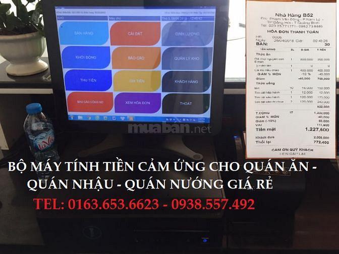 Nhận lắp máy tính tiền cho quán ăn tại Vũng Tàu