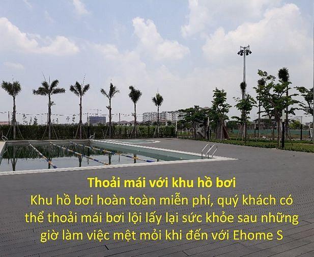 Căn hộ Full Đầy Đủ Nội thất EhomeS Nam Long Phú Hữu, quận 9, 46m2, 2PN