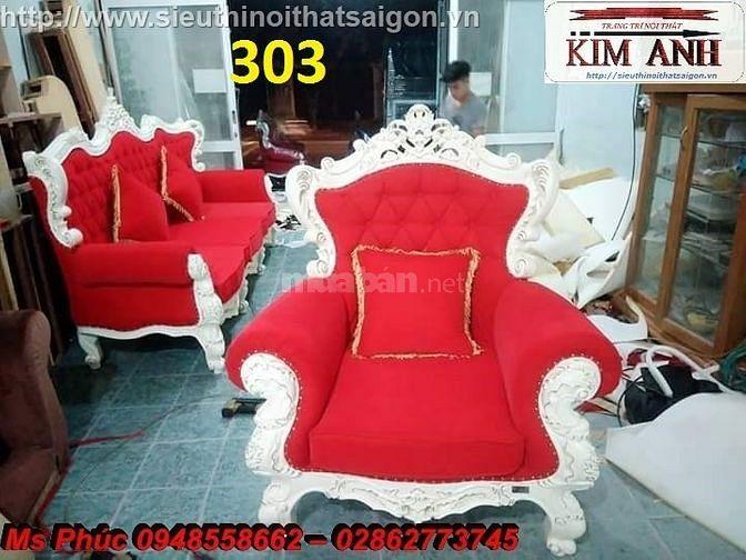 Xả hàng tồn kho sofa tân cổ điển kiểu dáng châu âu giá rẻ q2, q7