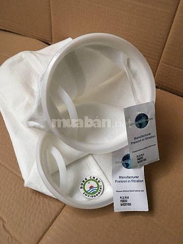 Túi lọc PE 25 micron size 1, hàng nhập, giá cạnh tranh. Đông Châu