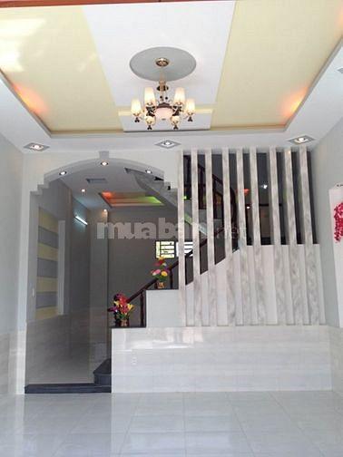 Nhà mới 1trệt 1lầu 4x12m, gần Lê Văn Khương .Chỉ 850tr. sổ riêng
