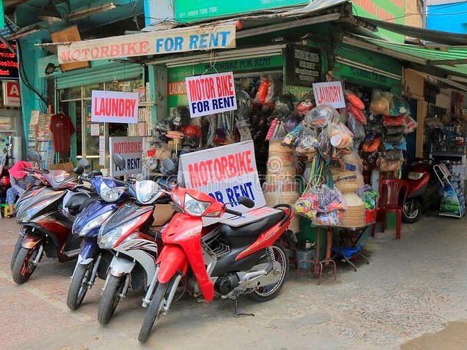 Dịch vụ cho thuê xe máy Đời mới, giá rẻ tại Đà Nẵng