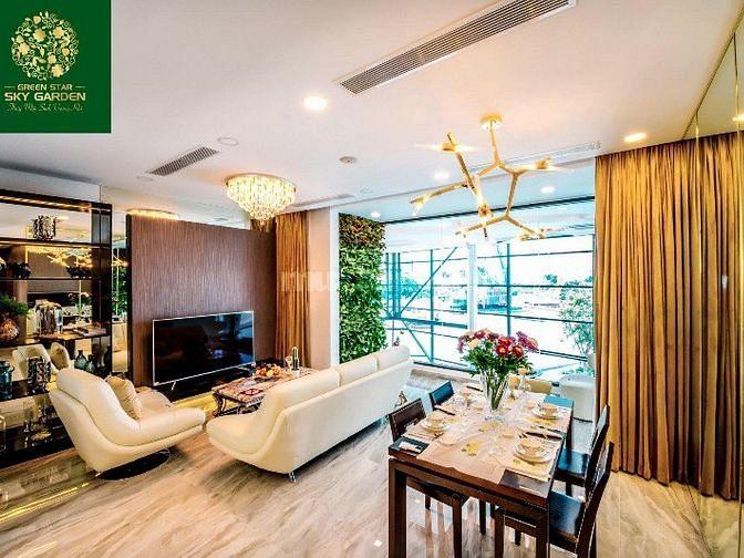 Cần bán căn hộ Detox & Healthy Green Star Sky Garden trả chậm 2% tháng