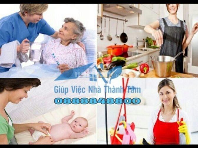 Công ty dịch vụ cung cấp người giúp việc nhà