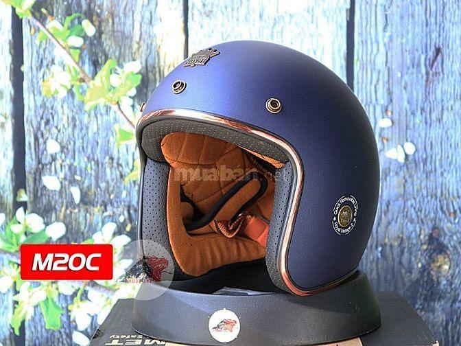 Mũ bảo hiểm 3/4 M20C – Royal - Tặng kèm lót mũ
