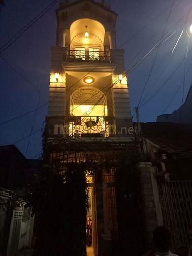 Chính chủ Cho thuê Nhà full nội thất hẻm 6m 124/12 Nơ Trang Long,P14