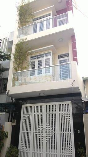 Cần bán gấp Tòa khách sạn  mặt tiền Nguyễn Xí P26 Q.BT, DT 8*50 trệt 6