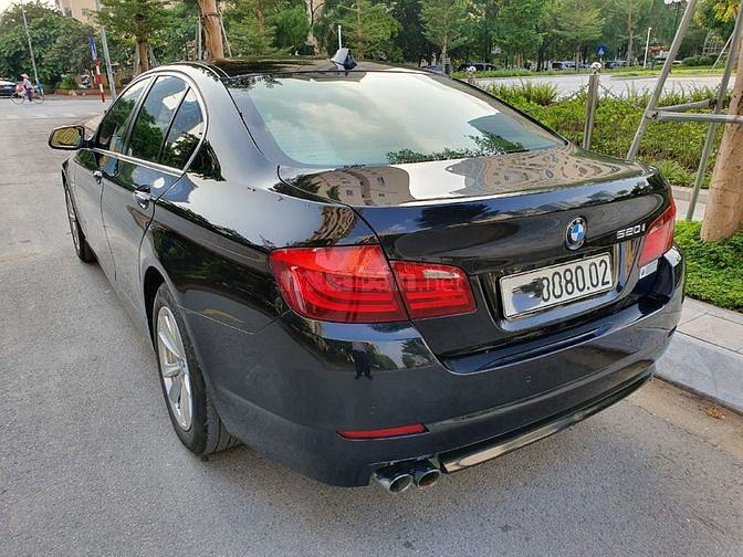 ManyCar bán BMW 520i 2012 màu đen nội thất kem