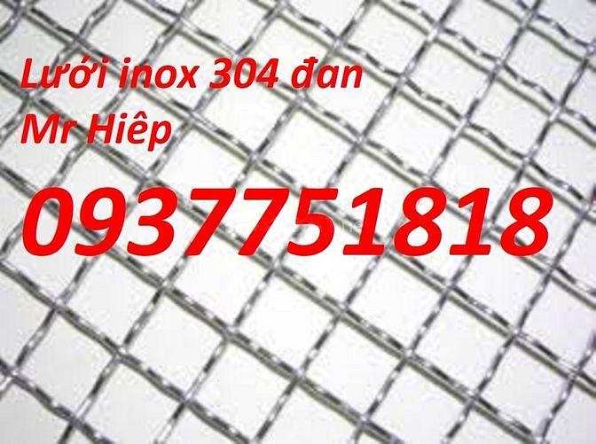 Lưới chống côn trùng inox 304, lưới đan, sàng lọc trong công nghiệp