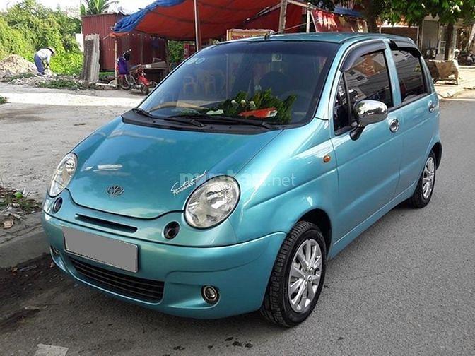 Mình lên đời bán xe Matiz 2006 tự động màu xanh rất đẹp