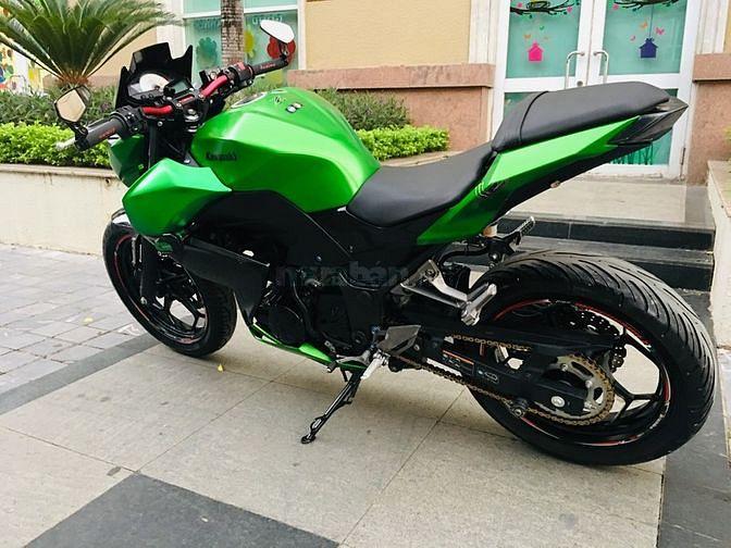 Kawasaki Z300 Xanh Đen ABS Đèn Led 219 Nguyên Bản
