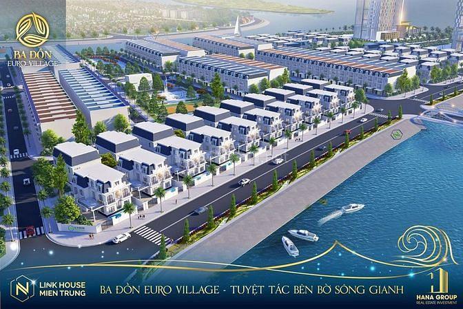Cần bán đất nền dự án khu đô thị Nam Hùng Vương,TX Ba Đồn, Quảng Bình