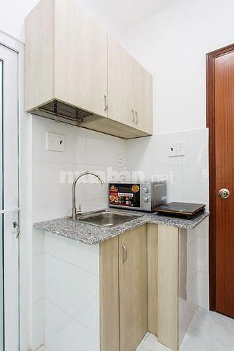 Cho thuê căn hộ mới xây, full nội thất, 400/1 Ngô Gia Tự