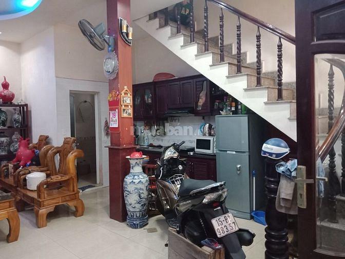 Bán nhanh nhà đẹp 48m2 x 3 tầng đường Thiên Lôi, chợ Đôn Niệm, 1,485tỷ