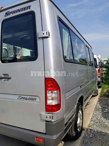 Bán xe Sprinter tải VAN 6 chỗ 900kg sx 2005 chạy được giờ cấm