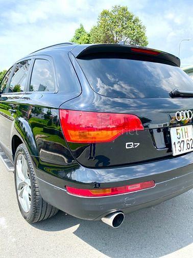 Audi Q7 CDI Máy dầu nhập đức 2009 7 chổ màu den zin hàng full  hai cầu