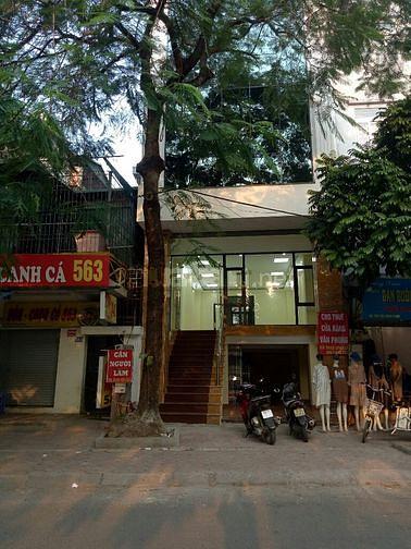 Chính chủ cho thuê VP phố Vũ Tông Phan; dt 110m2; giá 16tr/th