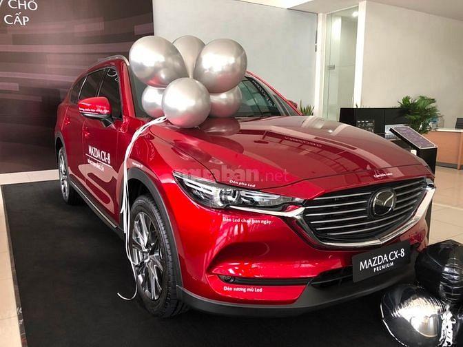Mazda cx8 luxury 2.5l ưu đãi đặt biệt giảm 40tr