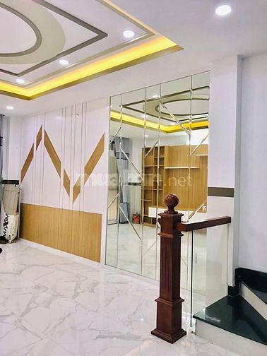 Nhà Phân Đăng Lưu, hẽm xe hơi tránh,5 tầng, Phú Nhuận cực đẹp