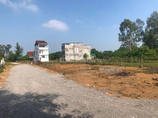 Bán lô đất xã Nghi Ân. DIện tích 111m2. Giá chỉ 522 triệu