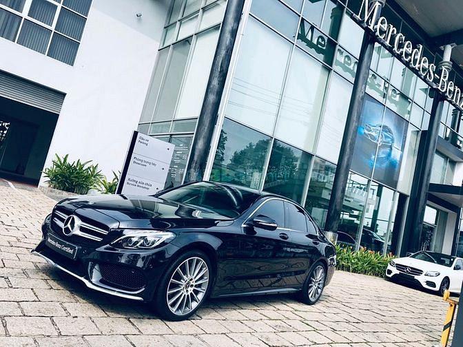 Mercedes C300 AMG BẢO HÀNH 5 NĂM VAY GÓP 6 TRIEU/THÁNG. Chính Hãng