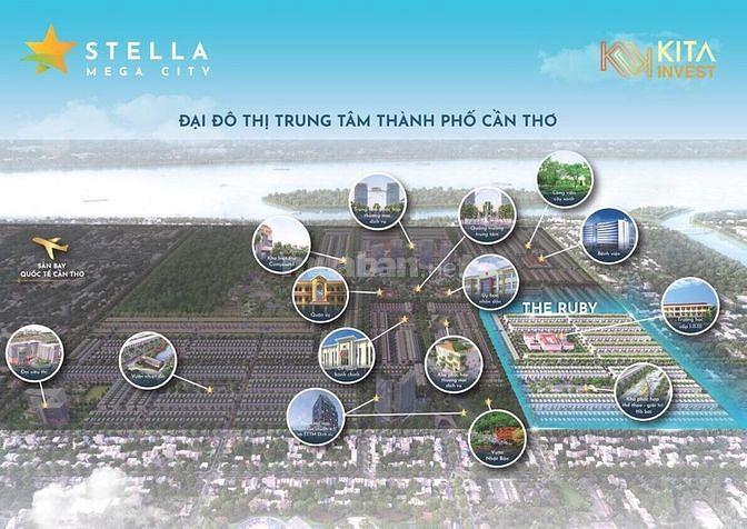 Sở hữu đất nền sổ đỏ trung tâm thành phố Cần Thơ, chỉ từ 50 triệu.