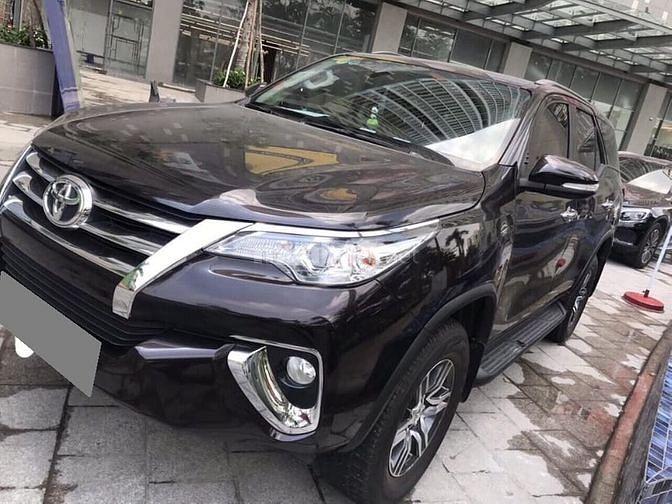 Bán Toyota Fortuner 2017 tự động xăng nhập Indonesia nâu xá xị.