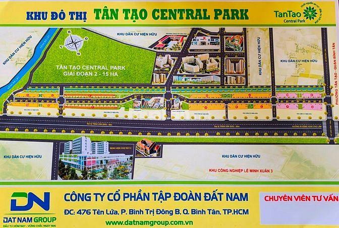 """Khu Đô Thị """" Tân Tạo Central Park"""" nơi đầu tư, an cư và nghỉ dưỡng"""