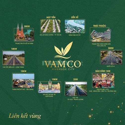Hoàng Khang Group Chính thức mở bán dự án Vàm Cỏ RiverSide City