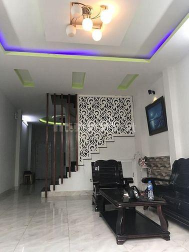 Nhà Mới Xây 1 Năm_Nguyễn Xí_P26_Q.Bình Thạnh_5x18m_3PN