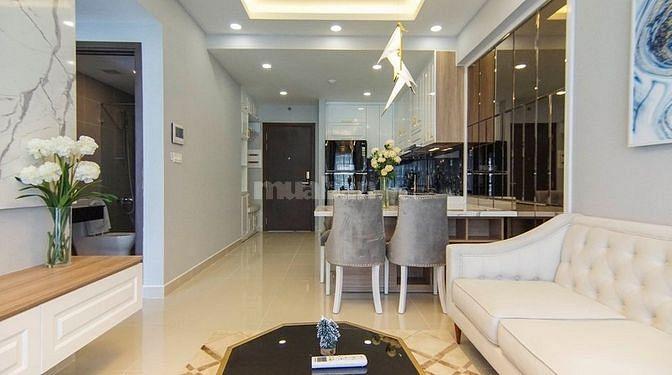 Cho Thuê Căn Hộ Cao Cấp 70m2, 2PN, 2WC Đầy đủ nội thất, giá 14 tr/th