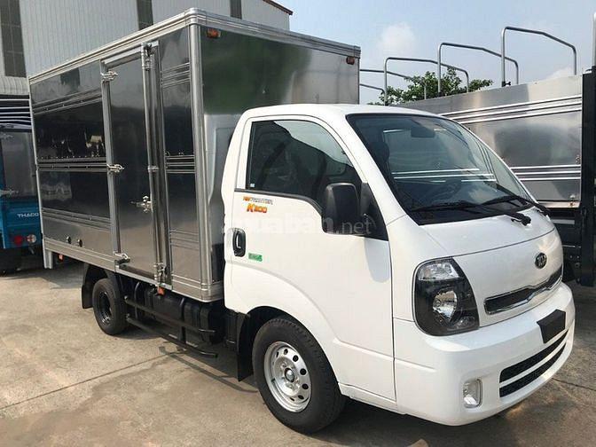 Xe tải thùng dài 3m2, đi trong thành phố, Thaco Kia K200 1T9 2019