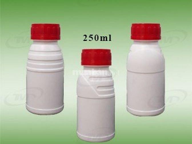 Chai nhựa, chai nhựa phân bón, chai nhựa thú y- thủy sản