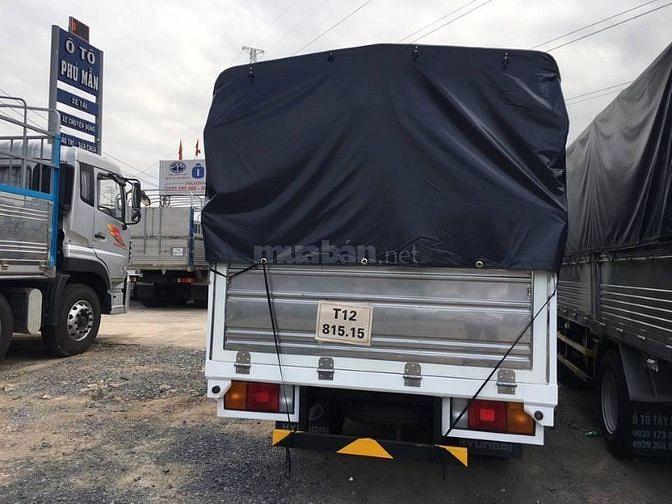 Xe tải Hyundai new mighty Đô Thành thùng mui bạt